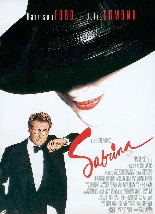 sabrina, julia ormond, harrison ford, movie, 1995, film review, paris, france, europe, makeover, photography, fashion, review