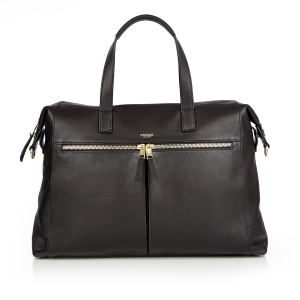 Audley Leather Slim Laptop Tote by Knomo London- 1-$395CAD-Pursebox.ca