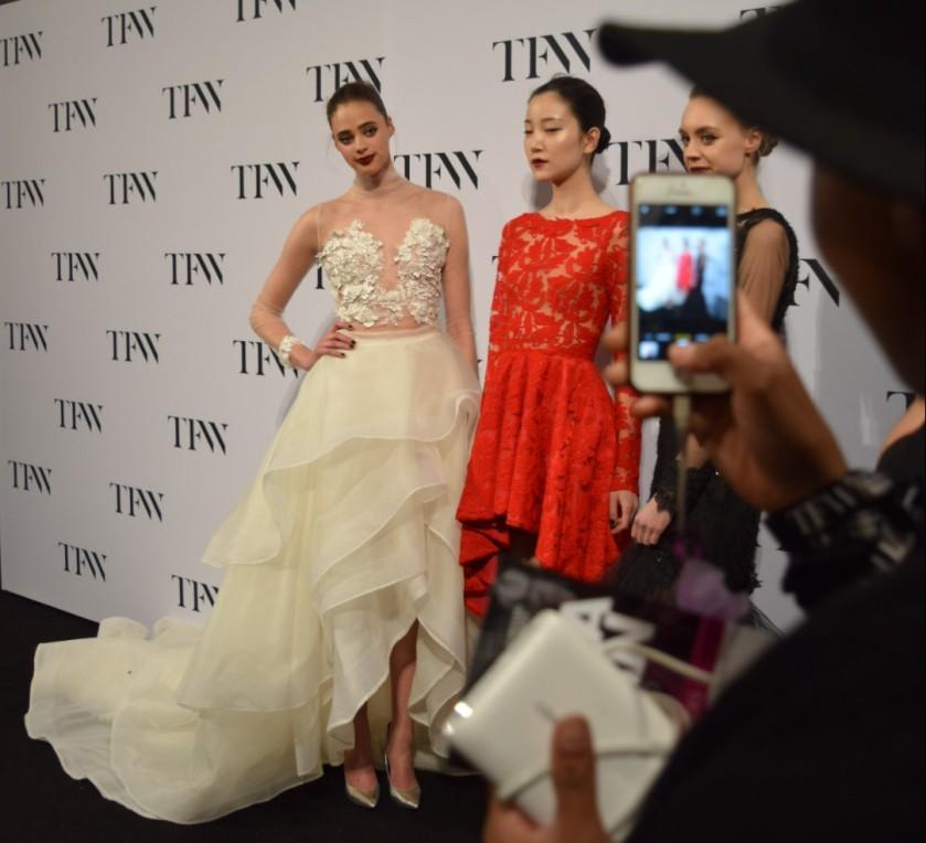 Narces, Toronto Fashion Week Narces, runway, backstage fashion week, behind the scenes