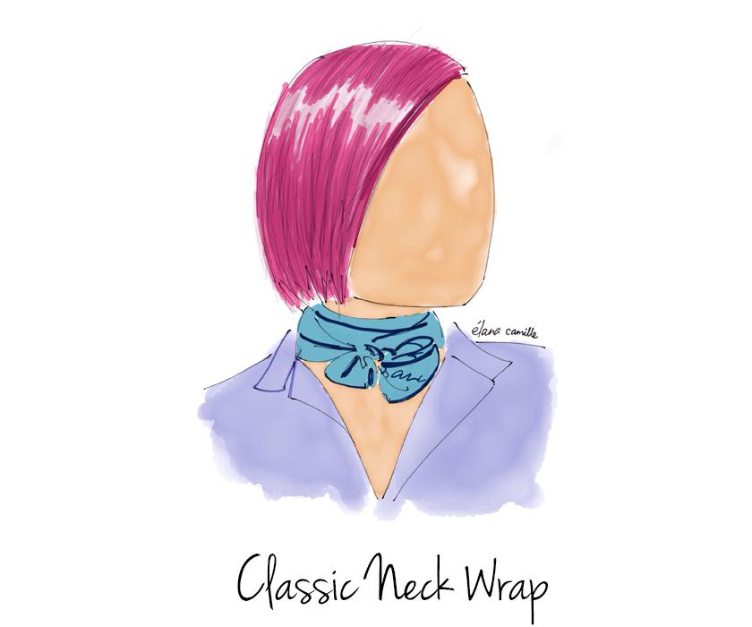 scarf neck tie, scarf neck tie style, neck tie style, neck tie