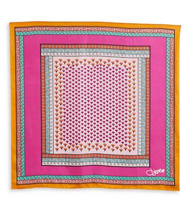 DVF, Diane Von Furstenberg, Mosaic Print, mosaic print scarf, dvf accessories, dvf scarf, dvf new york, Hudson's Bay, The Bay, Hudsons Bay